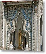 Wat Suan Phlu Ubosot East Portico Dthb1133 Metal Print