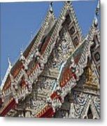 Wat Suan Phlu Ubosot Gable Dthb1132 Metal Print