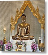 Wat Traimit Golden Buddha Dthb964 Metal Print