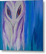 Watcher In The Blue Metal Print