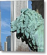 Watching Chicago Metal Print