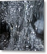 Water Abstract Metal Print