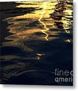 Water And Light Metal Print