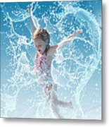 Water Baby Metal Print by Suni Roveto