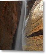 Water Canyon Metal Print