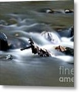 Water Cascades Metal Print
