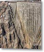 Water Dam Metal Print
