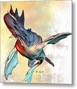 Water Dragon Metal Print by Bob Orsillo