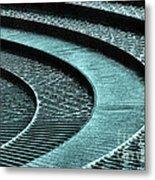 Water Feature - Aqua  Metal Print