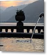 Water Fountain Metal Print