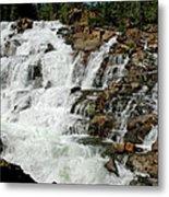 Water In Motion Glen Alpine Falls Metal Print