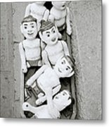 Water Puppets In Hanoi Metal Print