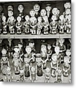 Water Puppets Metal Print