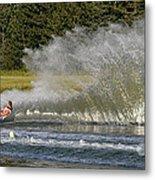 Water Skiing 4 Metal Print