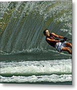 Water Skiing Magic Of Water 1 Metal Print