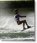 Water Skiing Magic Of Water 16 Metal Print
