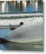 Water Skiing Magic Of Water 17 Metal Print