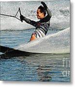 Water Skiing Magic Of Water 22 Metal Print