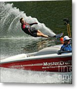 Water Skiing Magic Of Water 26 Metal Print