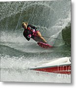 Water Skiing Magic Of Water 29 Metal Print