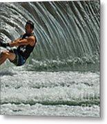 Water Skiing Magic Of Water 3 Metal Print
