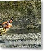 Water Skiing Magic Of Water 8 Metal Print