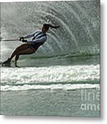 Water Skiing Magic Of Water 9 Metal Print