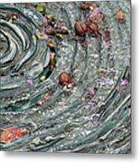 Water Spiral  Metal Print