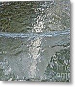 Water Wall Metal Print