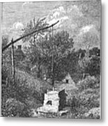 Water Well, C1880 Metal Print