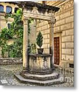 Water Well Metal Print