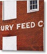Waterbury Feed Metal Print