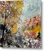 Watercolor 218022 Metal Print