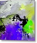 Watercolor 65654 Metal Print