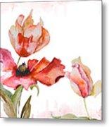 Watercolor Background Metal Print