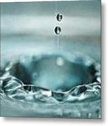 Waterdrop1 Metal Print
