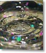 Waterdrop14 Metal Print