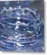 Waterdrop15 Metal Print