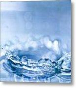 Waterdrop3 Metal Print