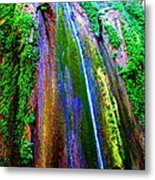 Waterfall  Metal Print by Catherine Natalia  Roche