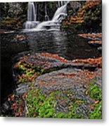 Waterfall Childs State Park Metal Print