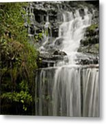 Waterfall Flows Metal Print