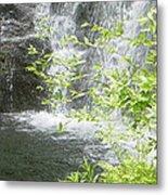 Waterfall In Vermont Metal Print
