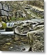 Waterfall Metal Print