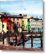 Waterfront Bridgetown Barbados Metal Print