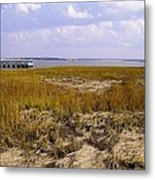 Waterfront Delight Metal Print