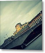 Waterloo Bridge Metal Print by Jacqui Collett
