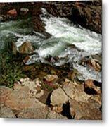 Waters Edge Glen Alpine Creek Metal Print