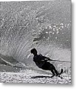 Waterskiing 1 Metal Print