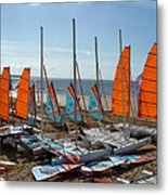 Watersports In La Baule Metal Print